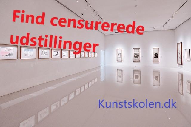 censurerede udstillinger